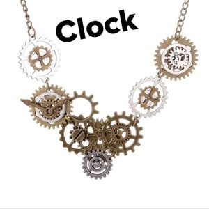 Steampunk Necklace (3) Styles NWT